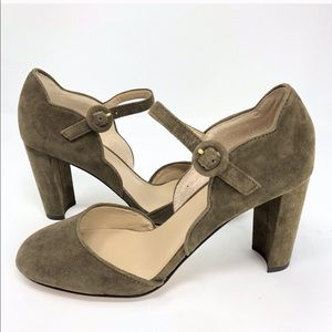 Alissa Suede Mary Jane Pumps
